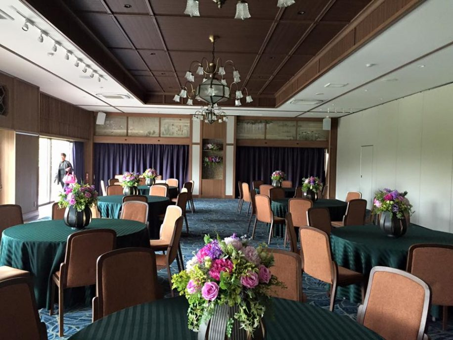 福岡の素敵な結婚式場を見学させていただきました。