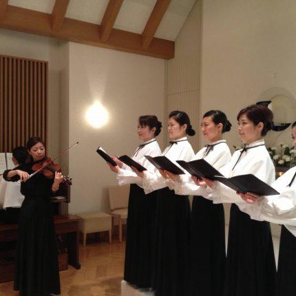 聖歌隊5人+ヴァイオリン(阪神)