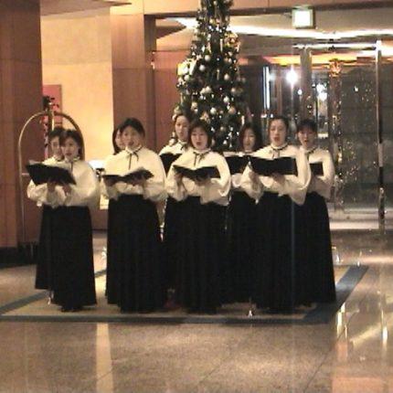 Christmasロビーコンサート